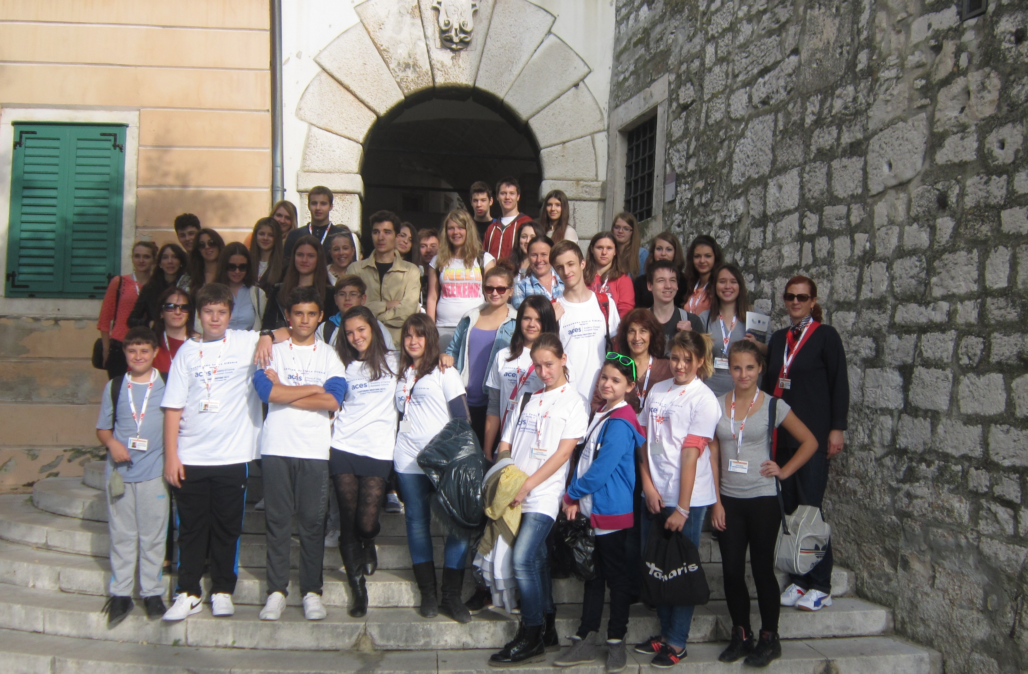 Group picture in Sibenik